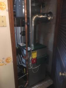 Boiler in a Closet